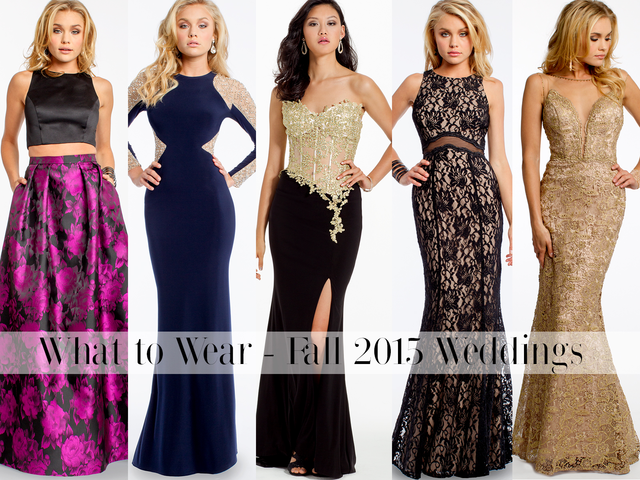 What To Wear Fall Winter Wedding Guest Dresses