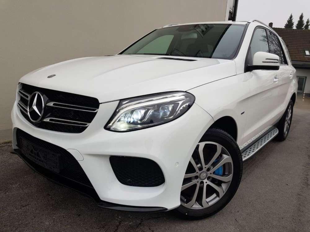 2017 Mercedes Benz Gle 500 E 4matic Suv Gle Class White Tags