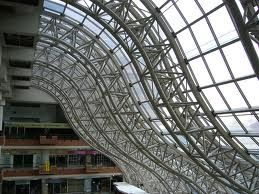 Curved Roof Structure Google Search Space Frame Roof Truss Design Roof Structure
