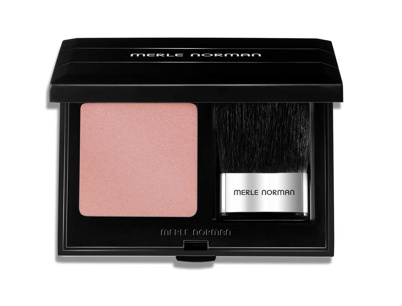 Soft pink blush by Merle Norman call Fancy Free Norman