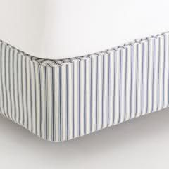 Ticking Stripe Box Spring Mattress Cover