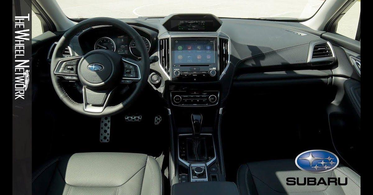 Pin di 2020 Subaru Forester Sport Interior