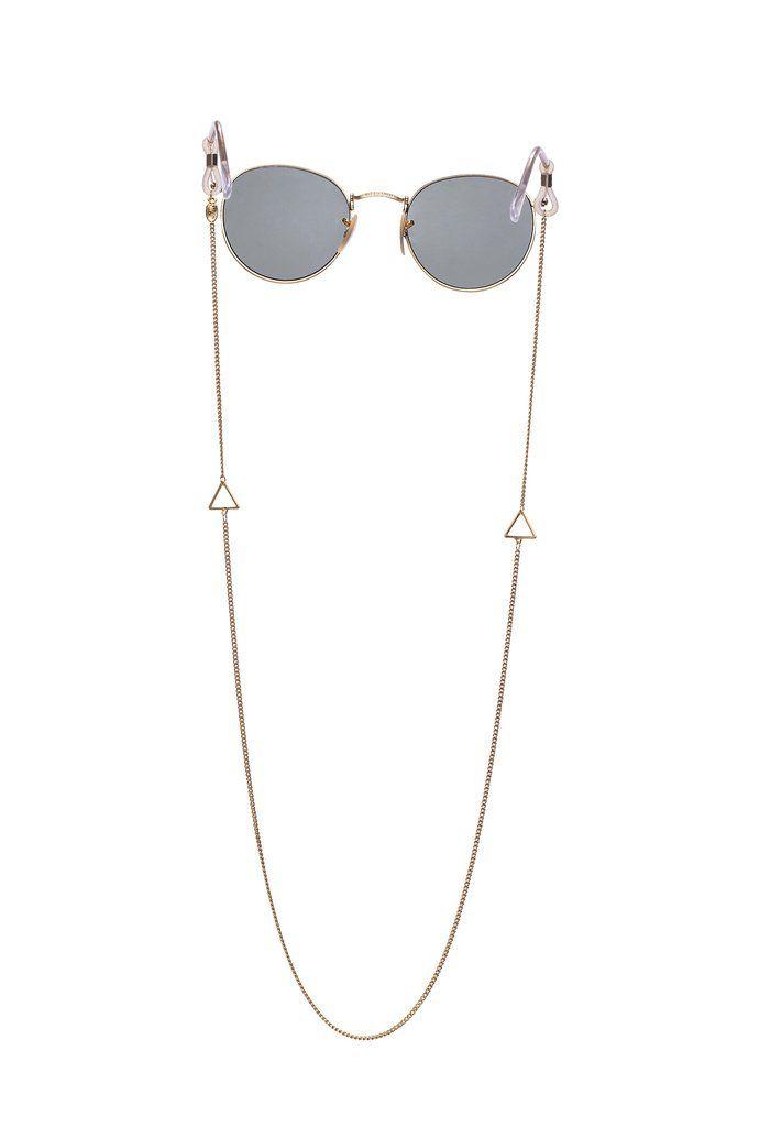 063966552 Bermuda Chain - Statement Sunglass Strap – Sintillia Cordinha Oculos,  Cordão Para Oculos, Suporte