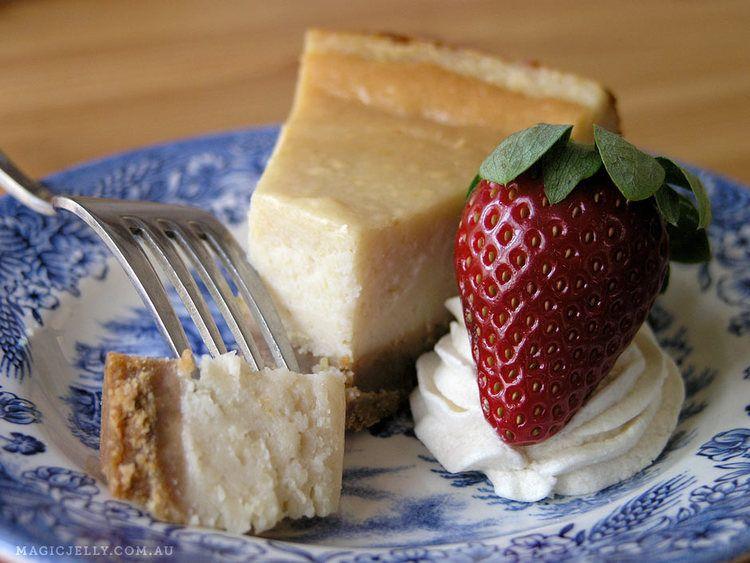 Vegan Baked Cheesecake (can be soy & gluten free) Vegan