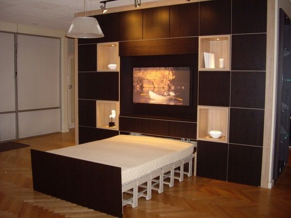 Contemporary Designed Wall Unit ~ Larry Huegel by California Closets ...