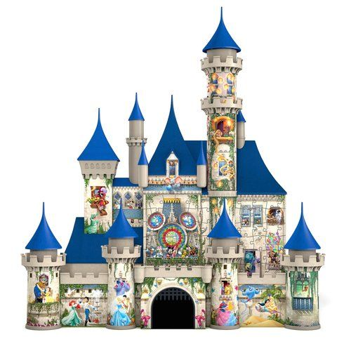 Disney Castle 3d Puzzle By Ravensburger Everything