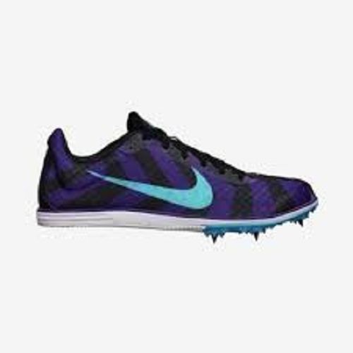 Womens Size 5.5 Nike Rival D Track Spikes Running Purple Shoes Sports Sprint