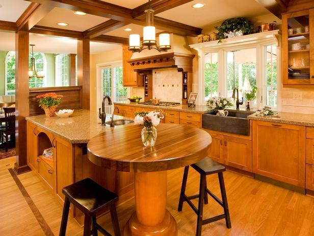 Kitchen Design Ideas - Designs for Kitchen Cabinets, Countertops, Backsplashes : HGTV : Home & Garden Television