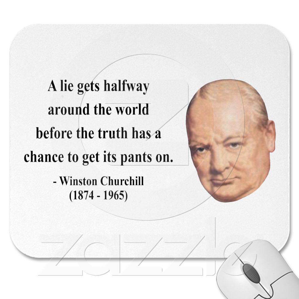 Winston Churchill Quote 11b Mouse Pad   Zazzle.com