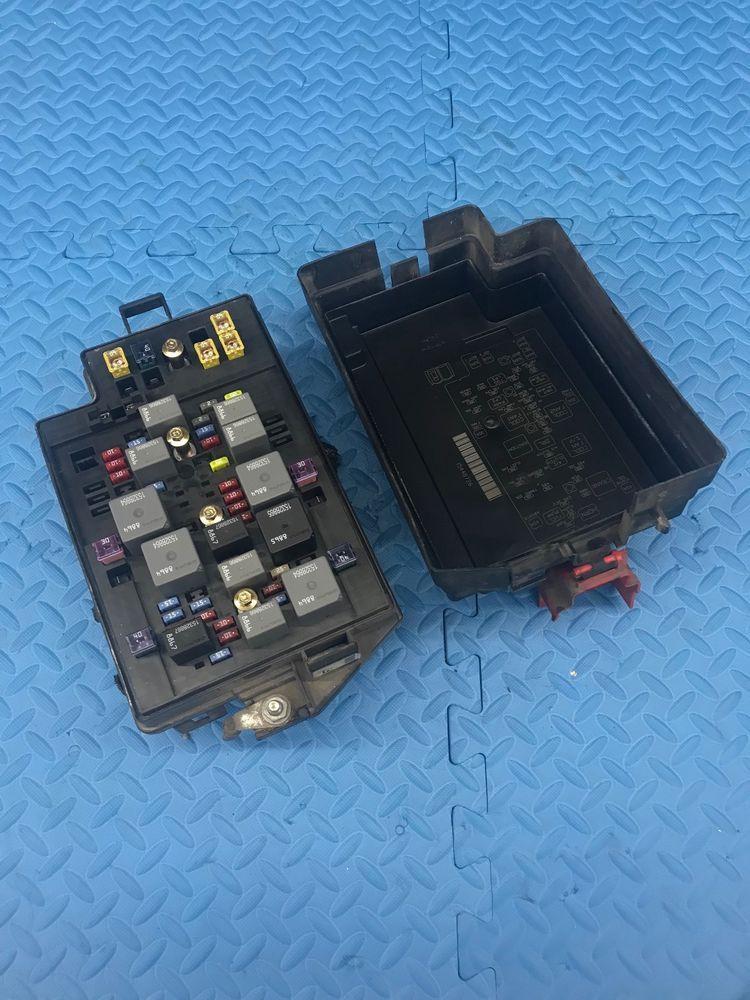 Genuine Pontiac Aztek Gm Part Engine Relay Fuse Power Distribution Junction Box Gm Pontiac Aztek Junction Boxes Pontiac