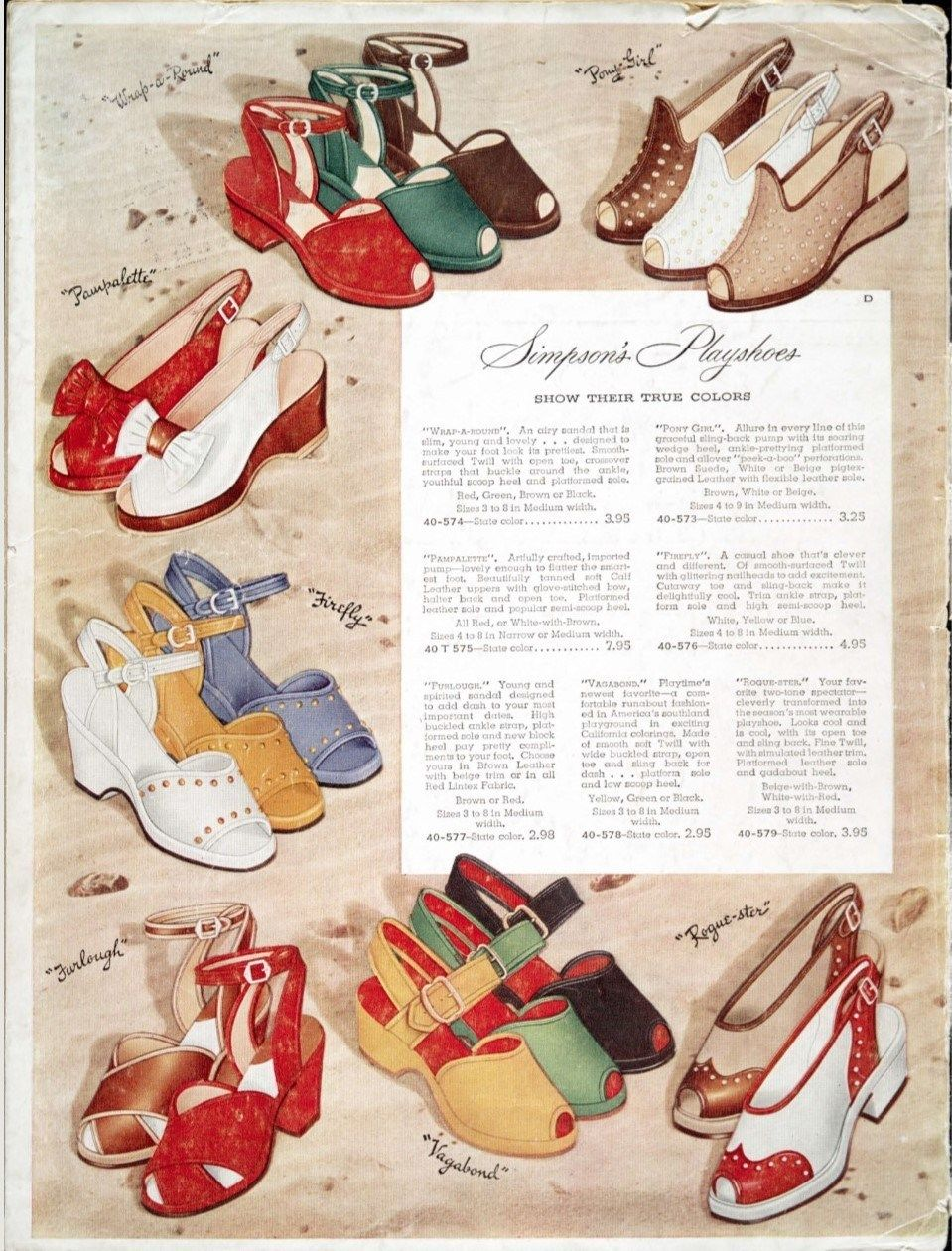Inside A Canadian Simpson S Catalogue Women S Fashions Of Spring And Summer 1945 Fashion Fashion Illustration Vintage 1940s Fashion Women