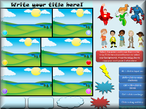 awesome free downloadable storymaker for kids! pictures and all, Modern powerpoint