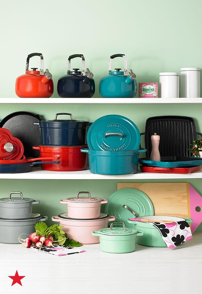We Love Using Enameled Cast Iron Pots And Pans In The Winter Add These Customer Favorites To Your Kitchen Collect Kitchen Collection Kitchen Knife Set Kitchen