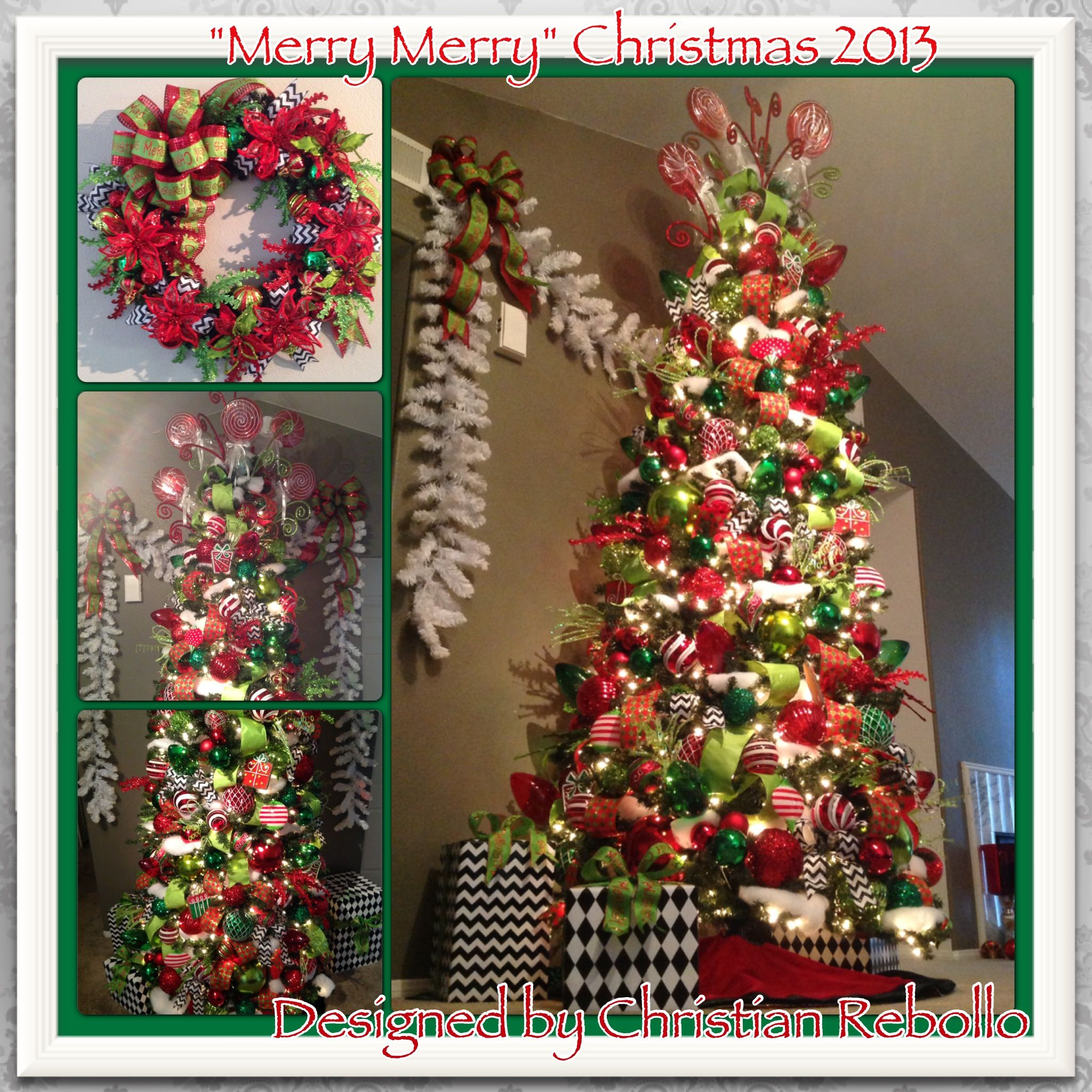 inspired by one of the most famous christmas stories merry merry was the theme for 2013s christmas decorations making its debut this is a completely
