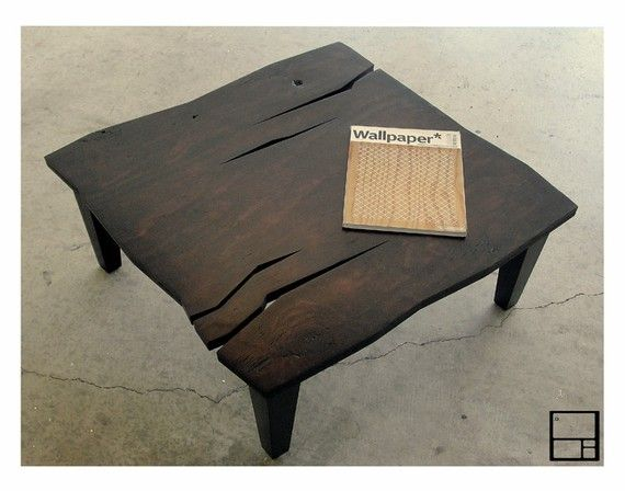 These Hand Crafted Coffee Tables By MSTRF Are Amazing.