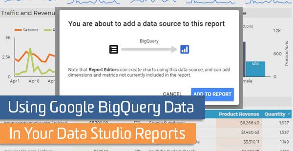 Create visually appealing reports with google data studio Web - how to create a report