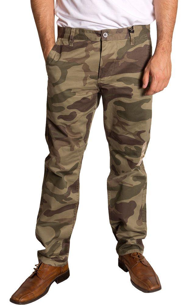 Mens Alpha Khaki Slim Tapered Printed Trousers Dockers mibFc1Bn9y