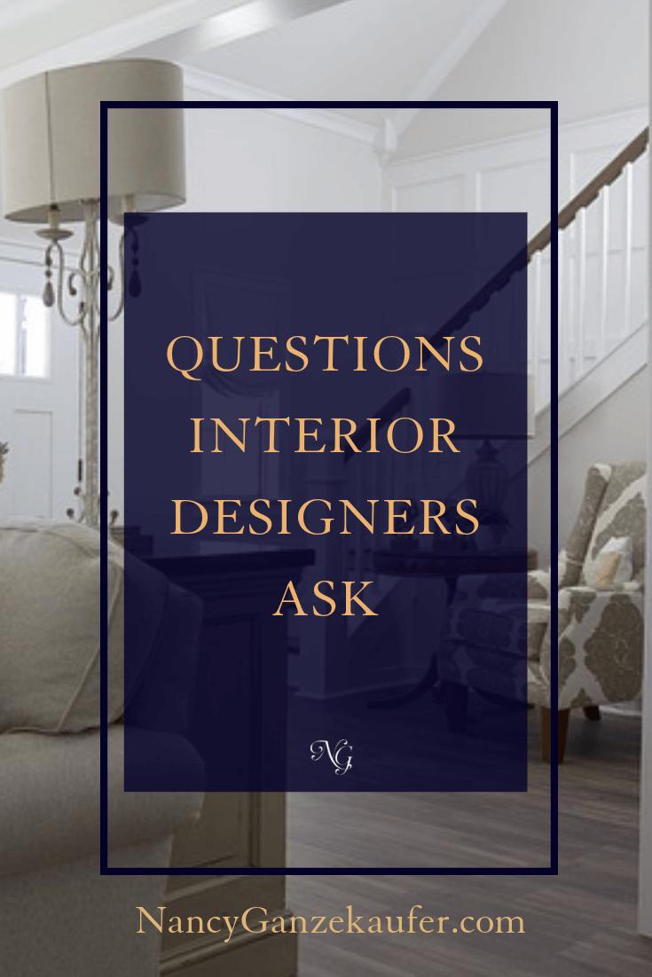 Interior Designer Questions Interior Design Business Business Design Coaching Business