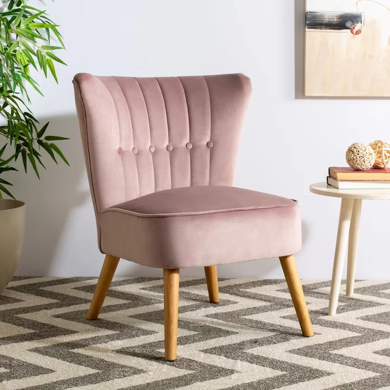 Landeros Side Chair Reviews Joss Main Mid Century Accent Chair Accent Chairs Mid Century Accents