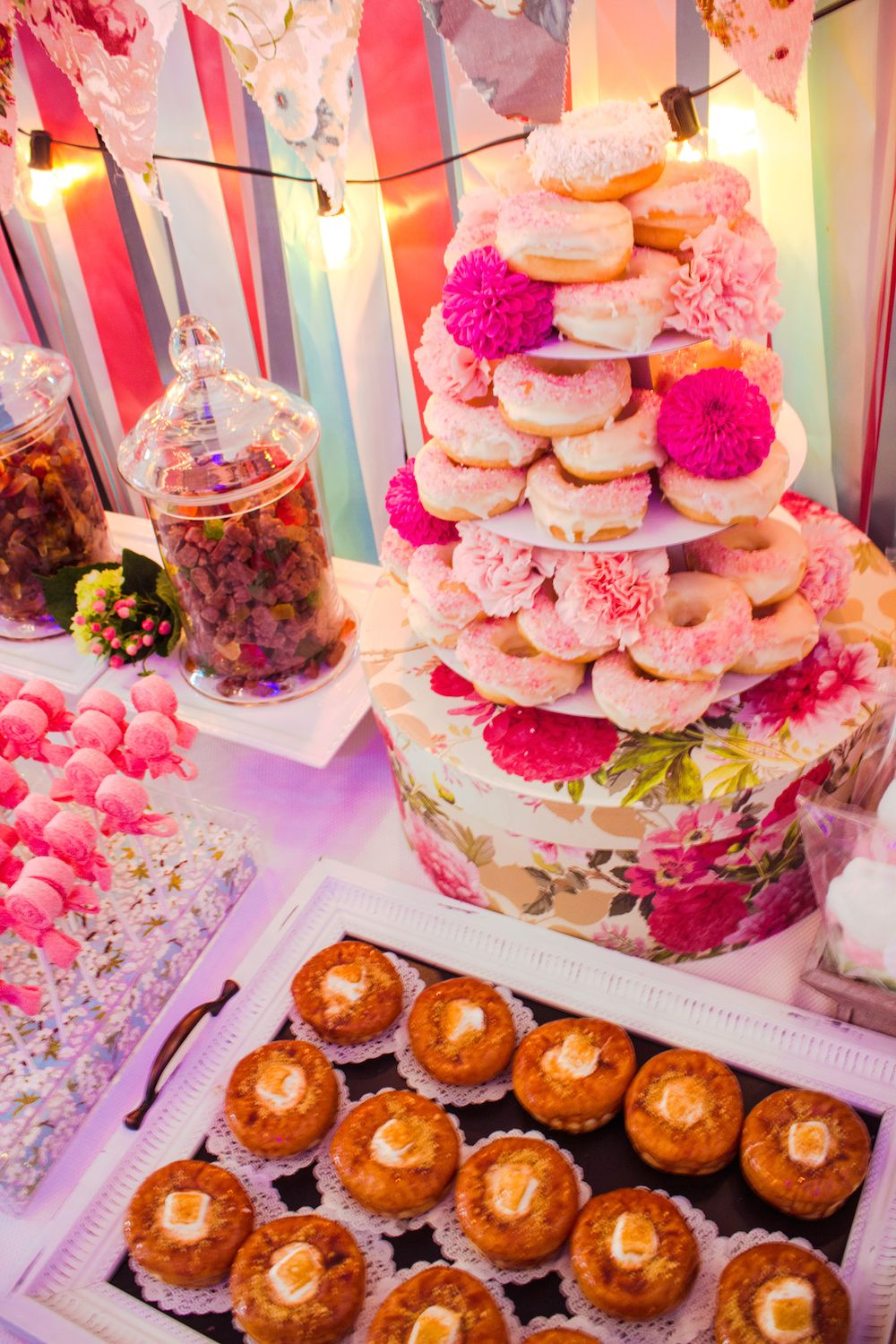 Shabby Chic Sweet Display. Sweet Table by Bucket & Whisk | Our Work ...