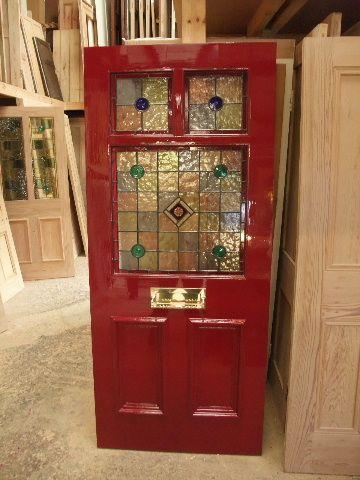 Brilliant Stained Glass Door Stained Glass Door Victorian Front Doors Glass Front Door Door Handles Collection Olytizonderlifede