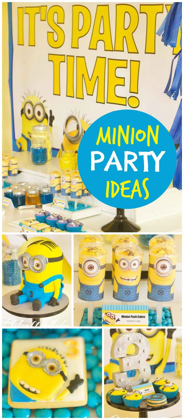 MinionDespicable Me Birthday Assemble the minions Xander is 3