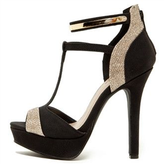 dfd6179f668 black and silver heel
