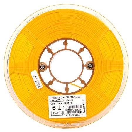 Black 3D Printer Filament 1KG Spool 2.2lbs eSUN 1.75mm Black PLA PRO PLA