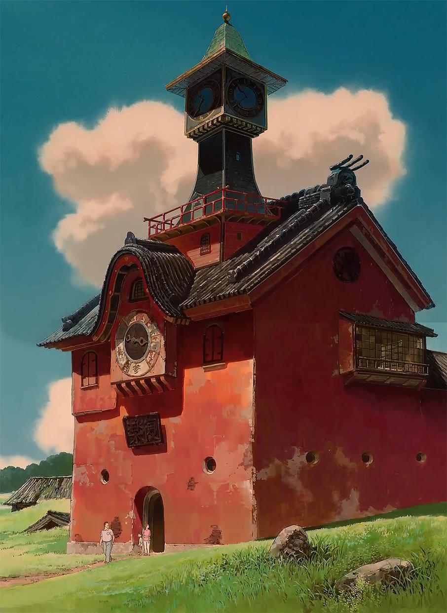 Spirited Away dir. Hayao Miyazaki (2001) Studio ghibli