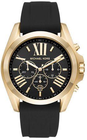 226f5df6f8d3 Michael Kors 47mm Bradshaw Chronograph Watch w  Silicone Strap