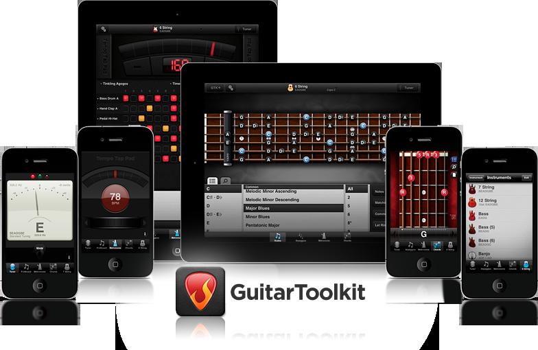 Agile Partners. Guitar Toolkit. Great iPhone / iPad app