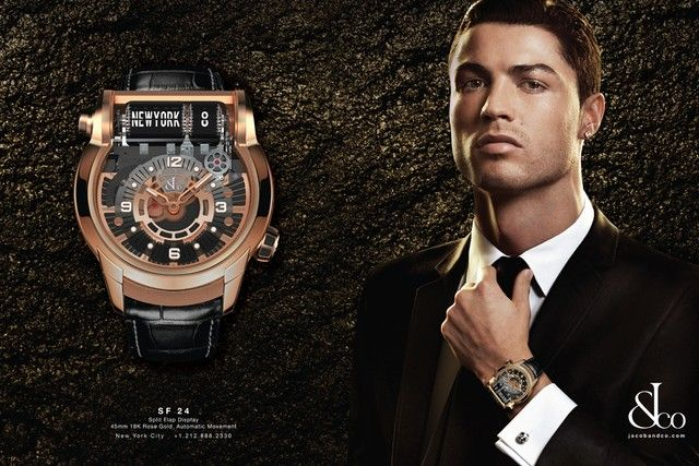 Cristiano Ronaldo Fronts New Jacob & Co. Watch Campaign | Anuncios ...