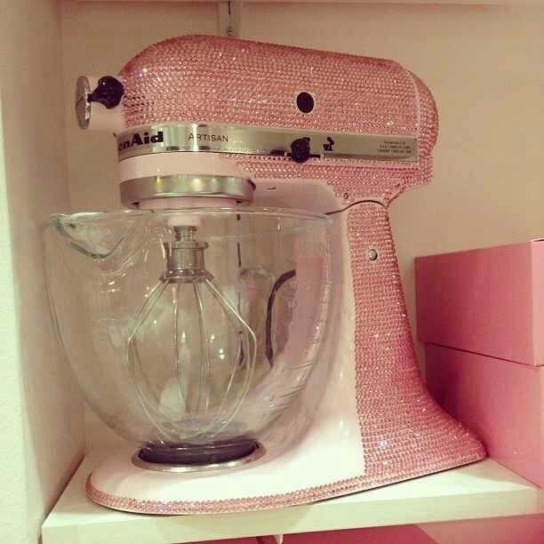 Blinged out kitchen aid mixer