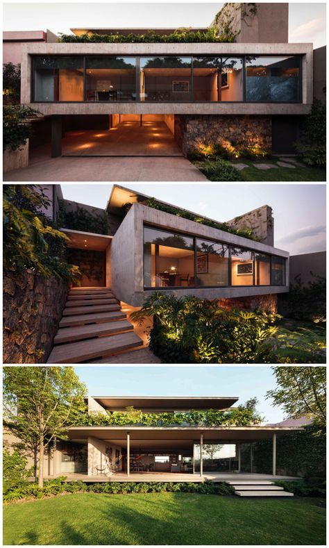 Architect Jose Juan Rivera Rio's Modernist Casa Caucaso - Mid Century Home