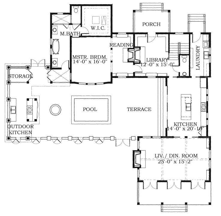 Allison ramsey architects floorplan for holiday house Allison ramsey house plans