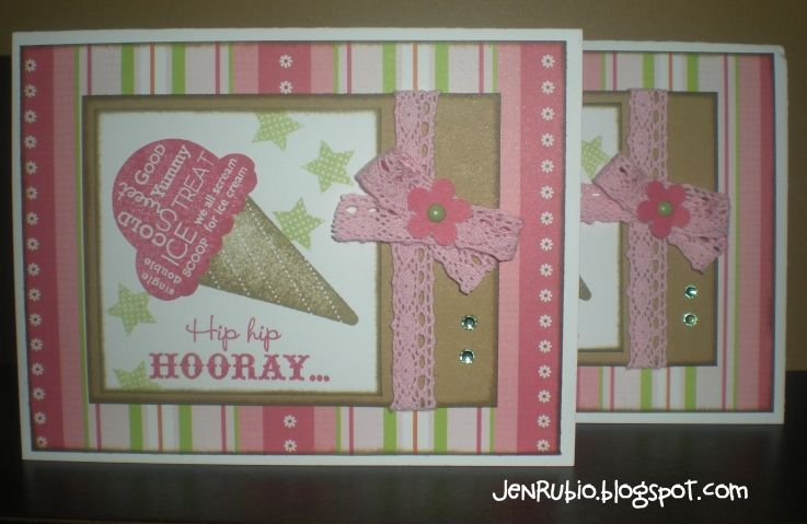 CTMH Sophia birthday card