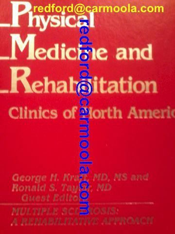 "#ms ""Multiple Sclerosis: A Rehabilitative Approach"" george h. kraft Rehabilitative #management of multiple sclerosis starts with stabilization of the disease process as much as is possible and follows with compensatory strategies ... for lost functions. ... MS #rehabilitation requires attention to the ... needs of MS"