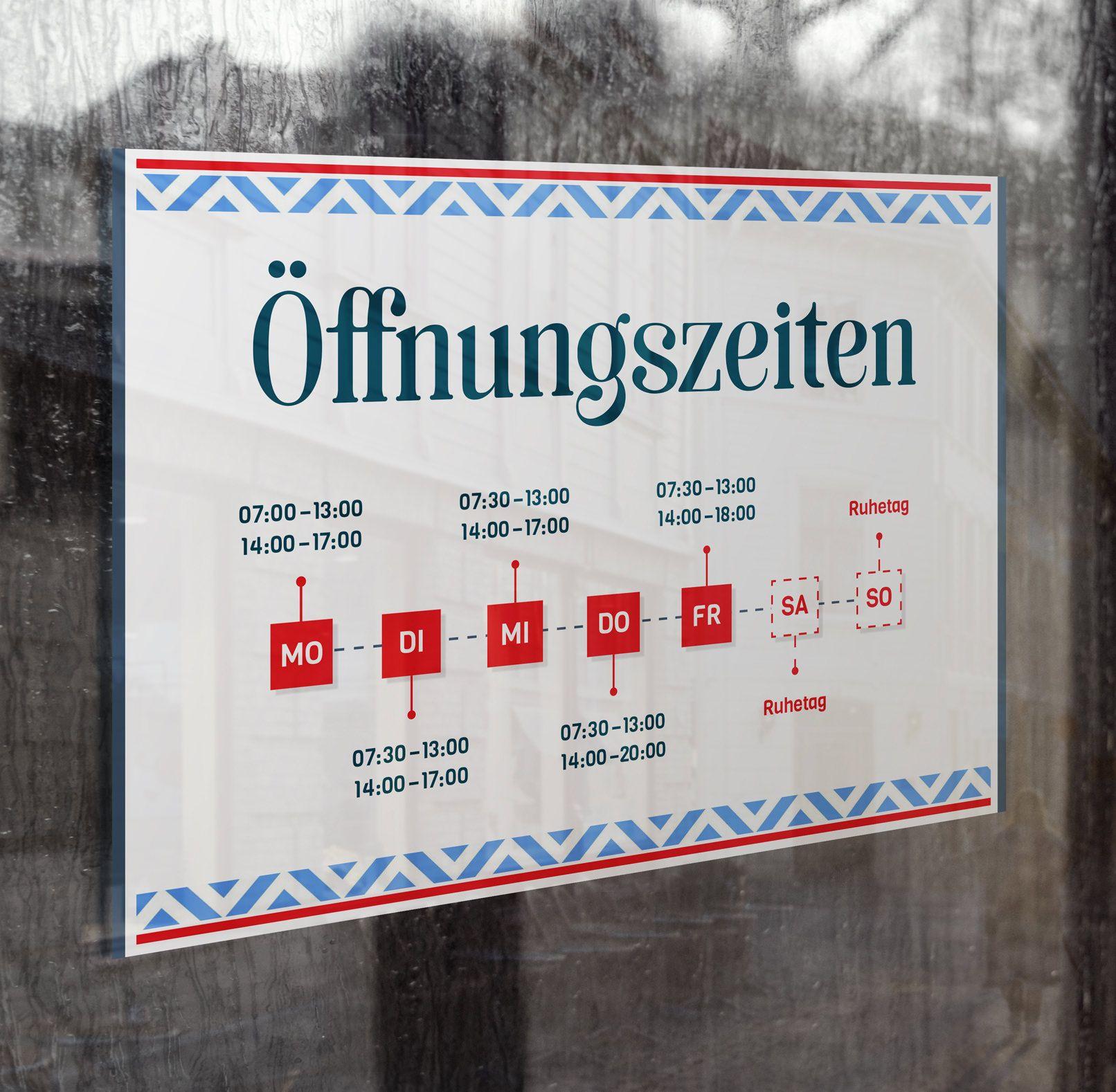 Öffnungszeiten: Vorlagen für Schild & Aushang | Vorlagen, Schilder ...