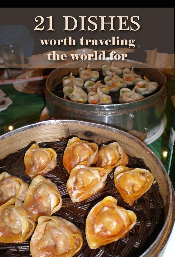 #worth #traveling 21 Dishes worth traveling the world for, according to top travel bloggers. Click to check out these delicious foods around the world.  Do you travel for food? You might want to check this out. My fellow travel bloggers helped me compile a list of 21 dishes worth traveling the world for.