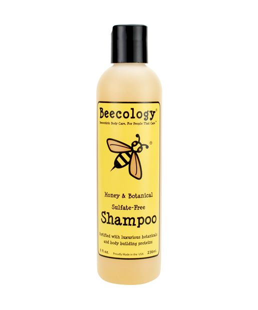No. 8: Beecology Natural Honey and Botanical Sulfate-Free Shampoo , $12.99