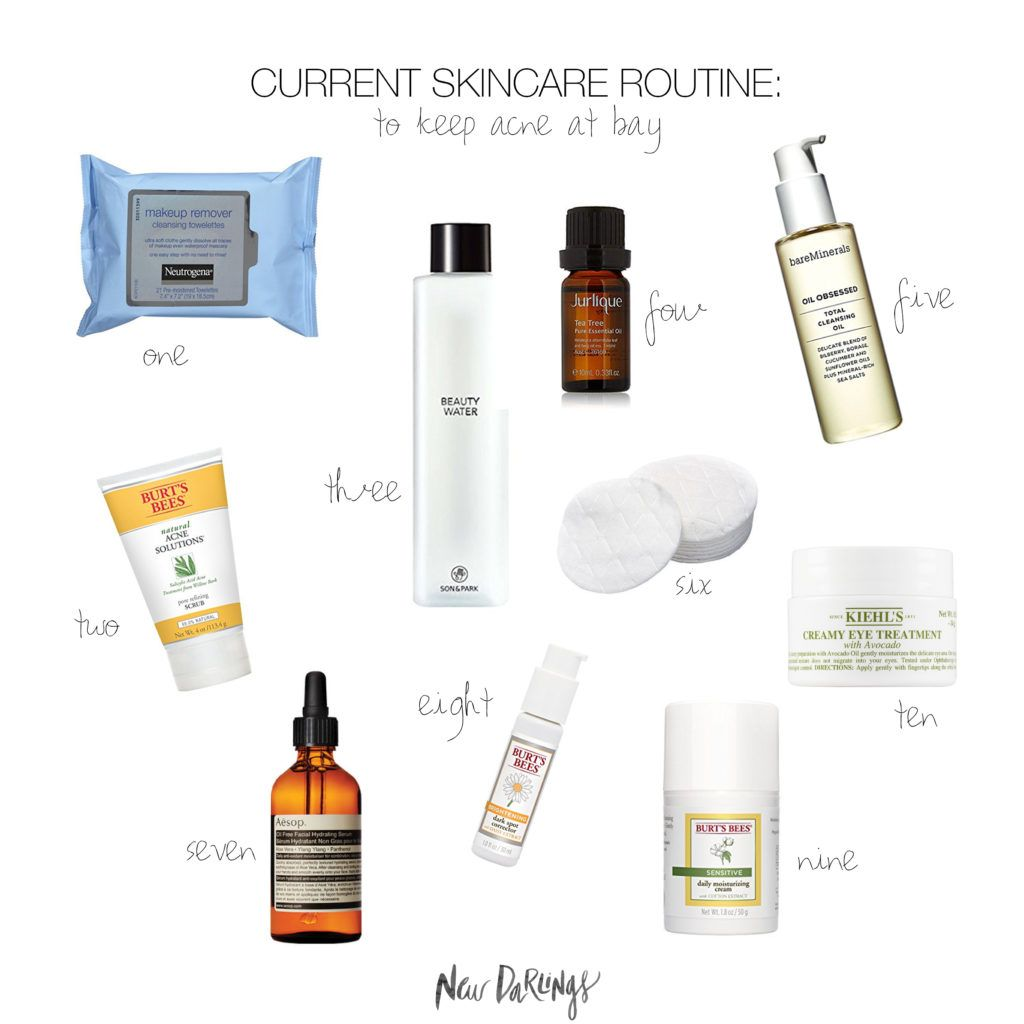 New Darlings Christina S Current Skincare Routine How To Keep Your Acne At Bay Skin Care Regimen Acne Facial Skin Care Routine Skin Care Routine