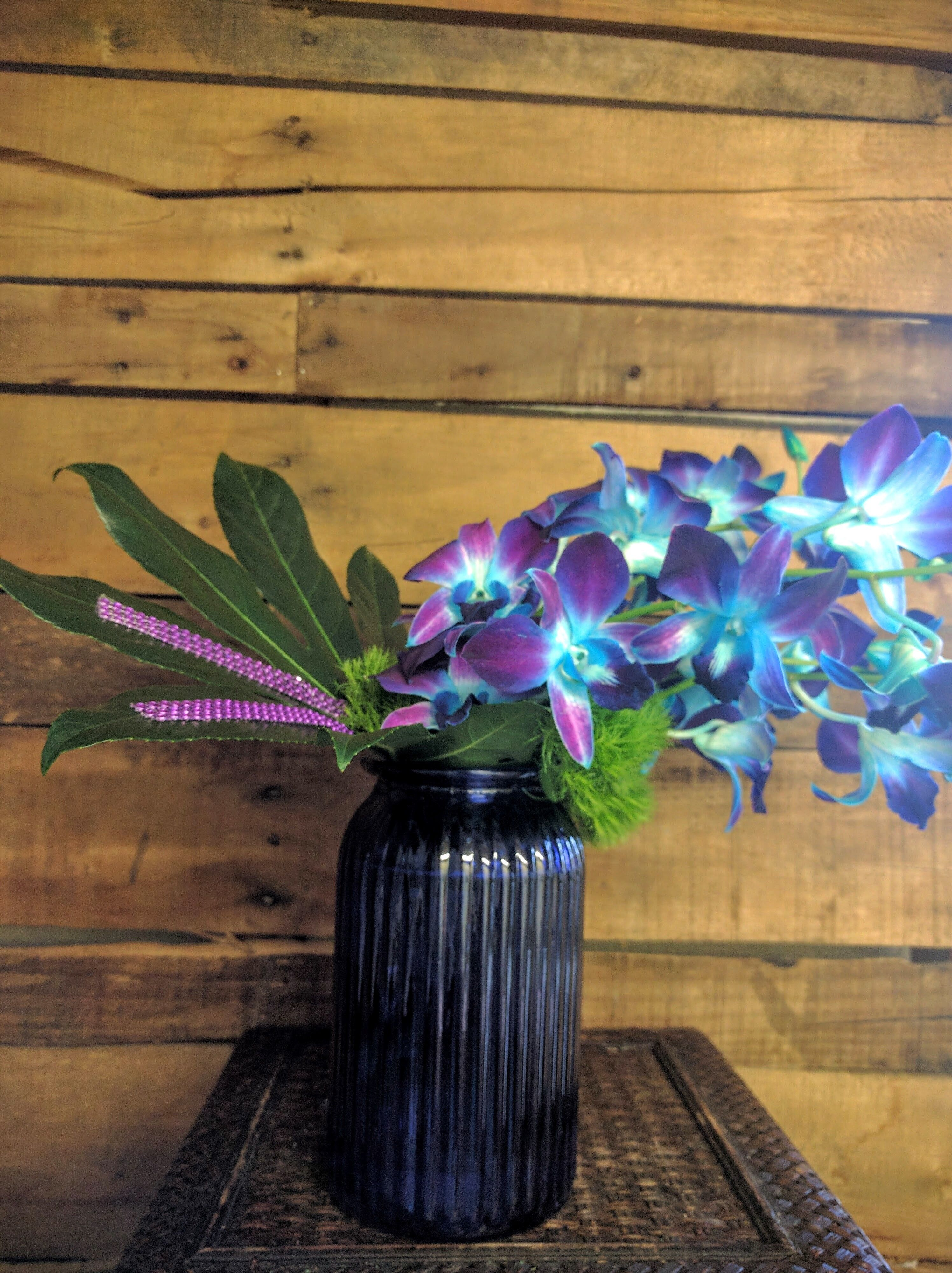 Allan S Flowers More Blue Orchids Beautiful Flowers Flower Delivery