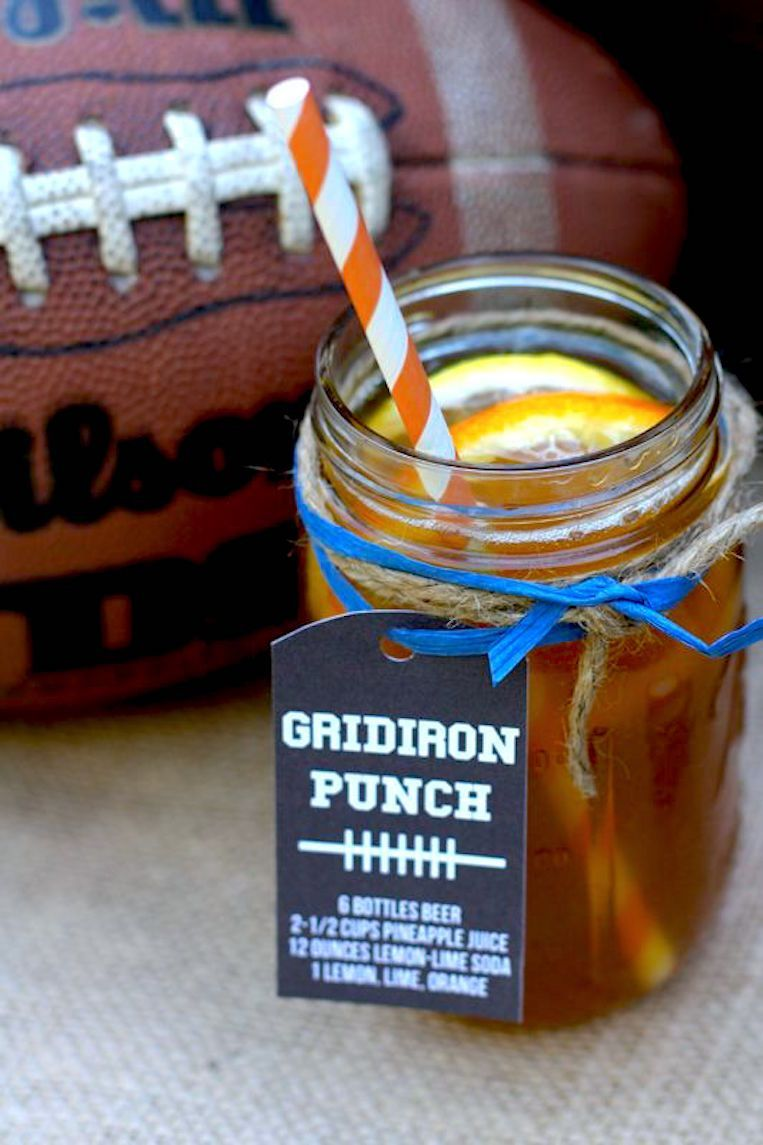 Effortless drinks for football season game day party ideas and