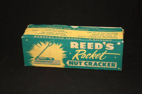 Vintage Reed's Rocket Nut Cracker Original by WillODellAntiques