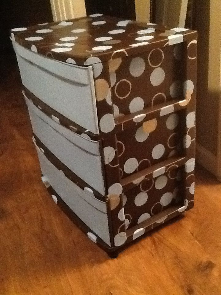 Painted 3 Drawer Rubbermaid Container It S Me Plastic