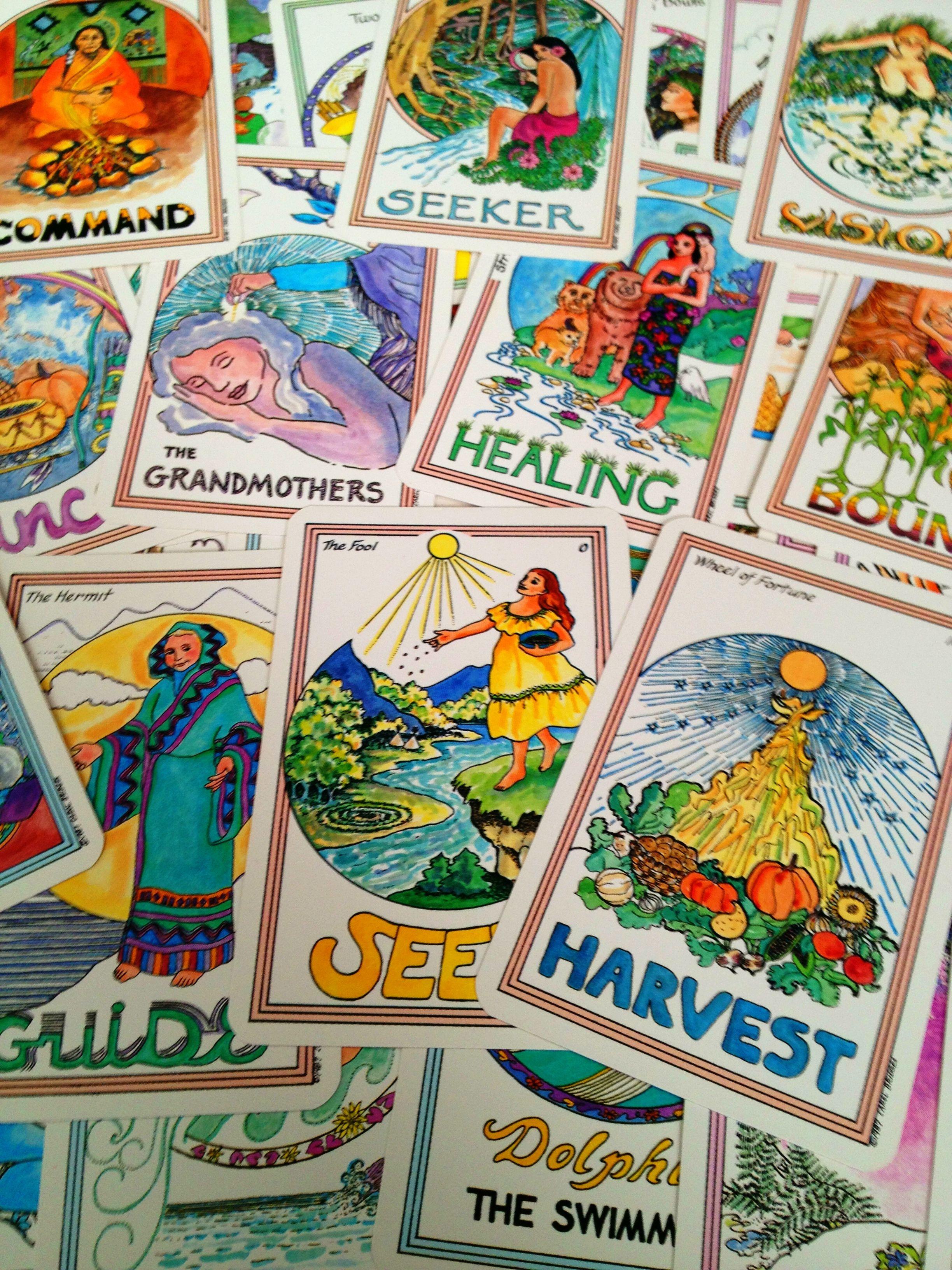 Medicine Woman Tarot By Carol Bridges