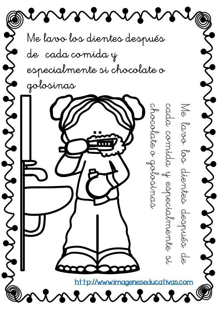 Rutinas libro para colorear y aprender (7) | palabras especialea ...