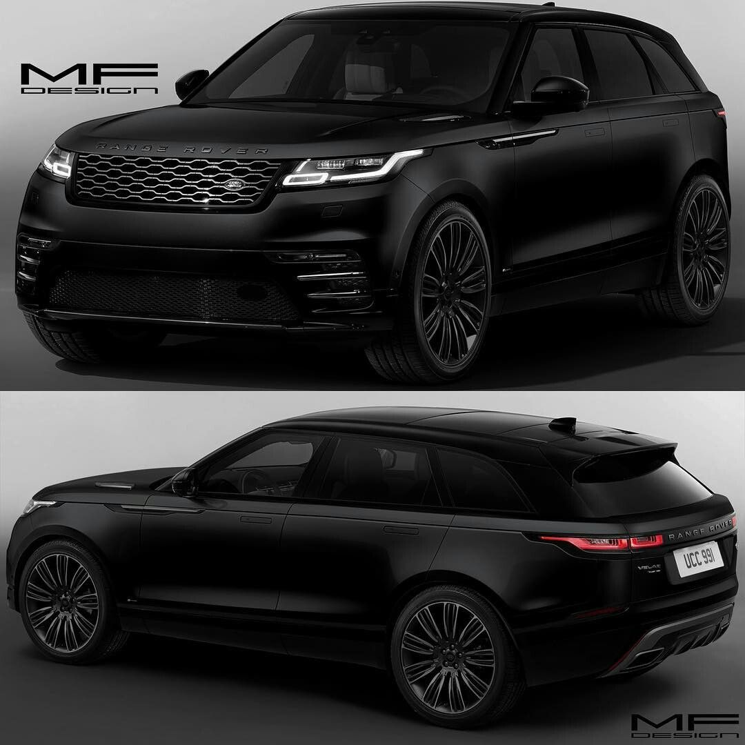 range rover velar black cars pinterest voitures moto et voitures de luxe. Black Bedroom Furniture Sets. Home Design Ideas
