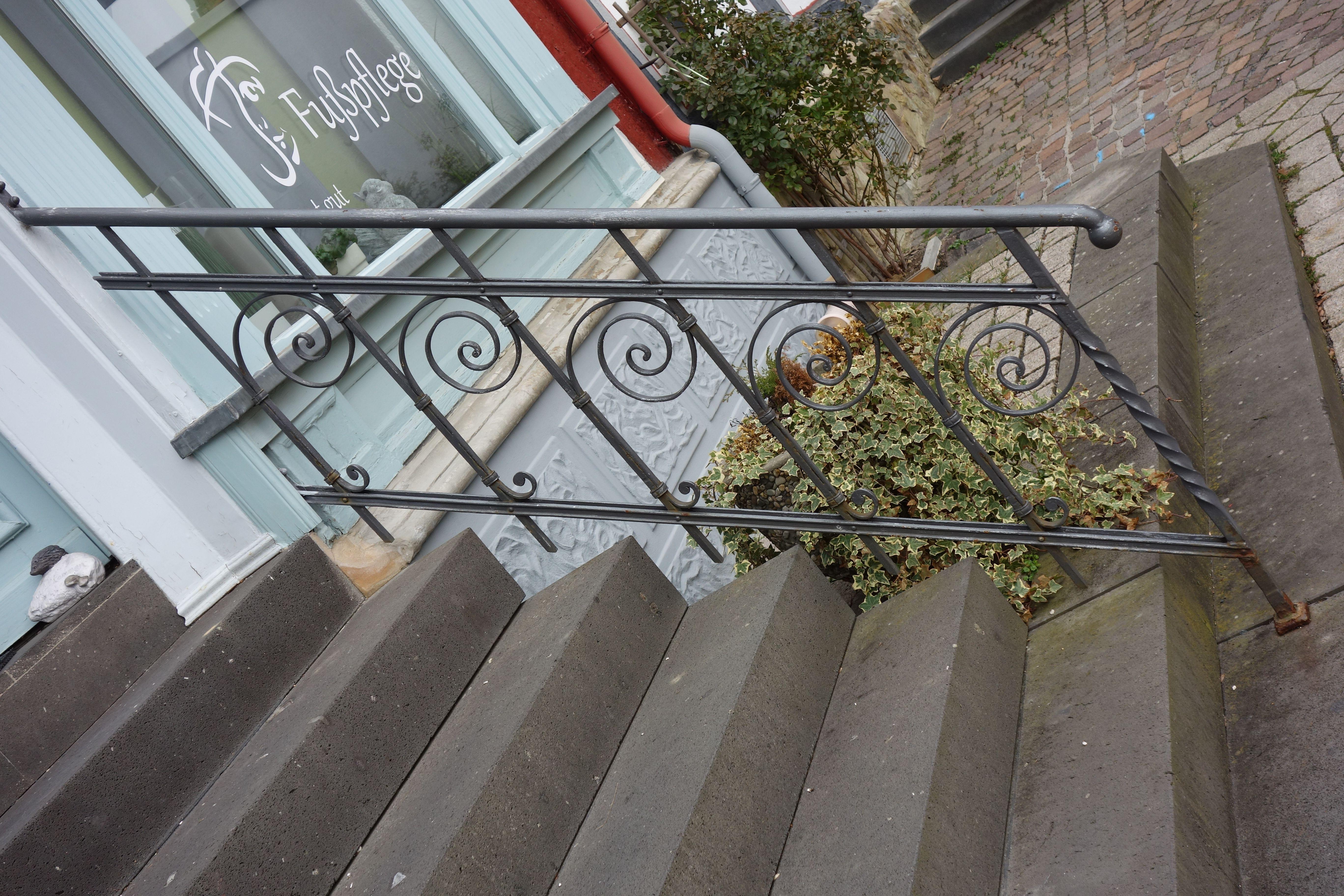 Historisches Geländer Schmiedeeisen in Idstein