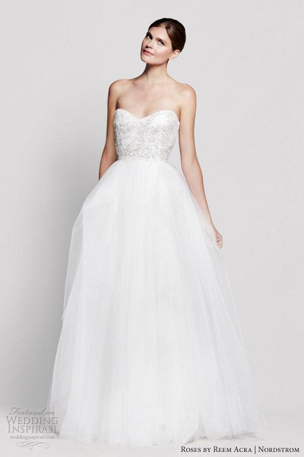 Roses by Reem Acra for Nordstrom Wedding Dresses | Wedding dress ...